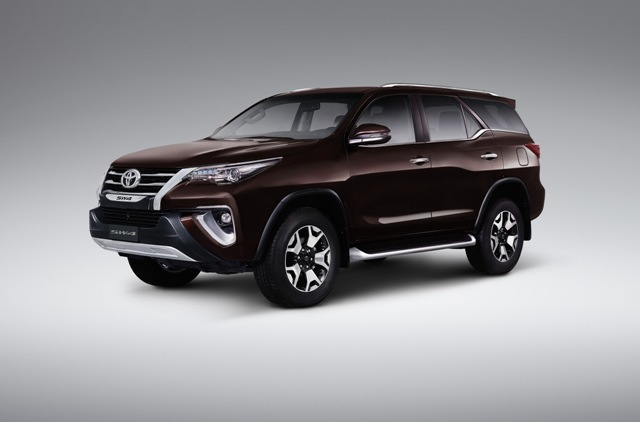 Toyota lançou SW4 2019