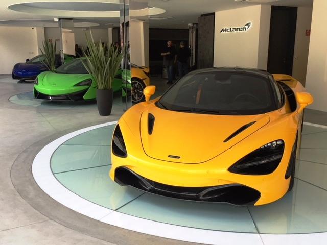 Brasil ganha casa McLaren