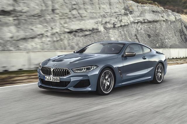 Esportividade e luxo no BMW Série 8 Coupé