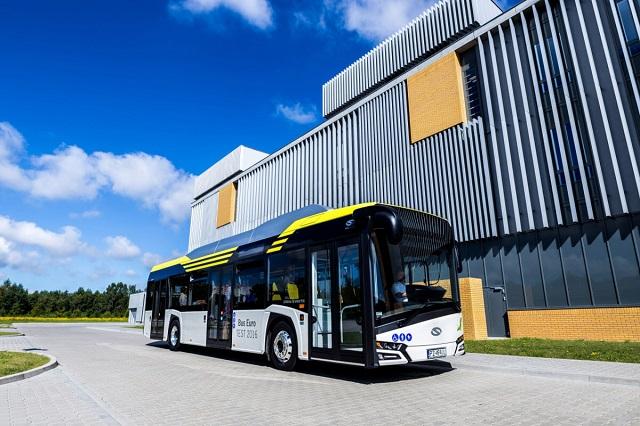 Sistema de tração elétrica para ônibus Voith .