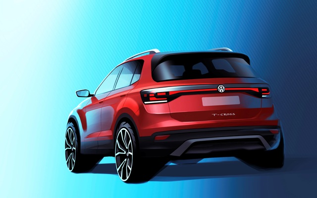 T-Cross, o novo SUV da Volks