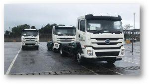 Caminhões elétricos para coleta de lixo chegam ao Brasil