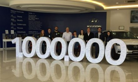 Estudantes visitam fábrica da Hyundai