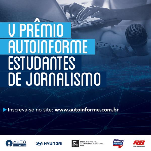 Começa o Prêmio de Estudantes de Jornalismo