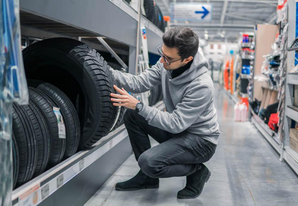 Preço do pneu pode variar 53%