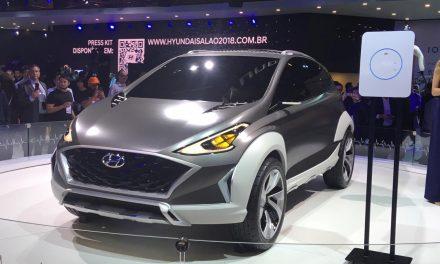 Tecnologia e competitividade no estande da Hyundai