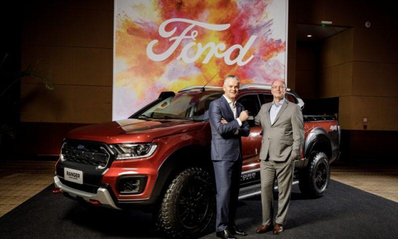 Ford comemora sucesso dos recentes lançamentos