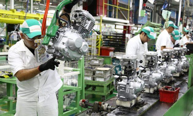 Cem mil motos produzidas em maio