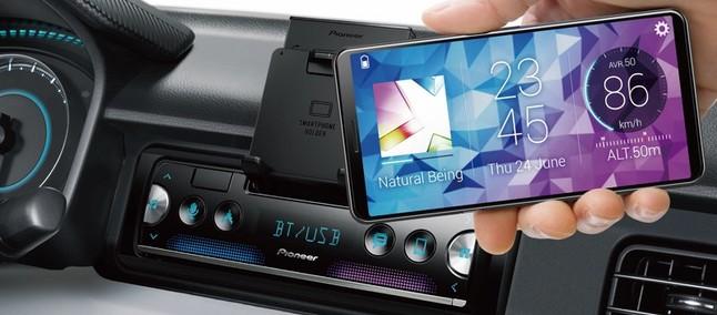 Sensor de estacionamento, agora no celular