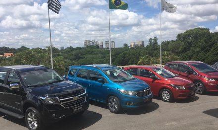 A GM cresce e aparece