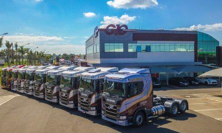 300 novos caminhões Scania para o Paraná